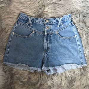 Vintage No Excuses Cut Off Jean Shorts